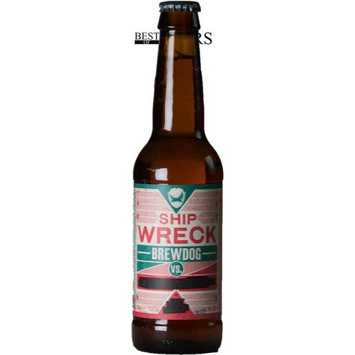 BrewDog, Shipwreck, Strong Ale, Smoked, - 0,33 l. - 13,8%
