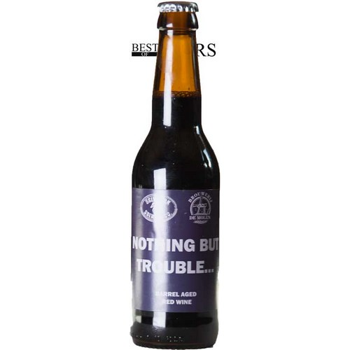 Ugly Duck/De Molen, Nothing But Trouble, Imp Stout, Barrel Aged Red Wine - 0,33 l. - 11,0%