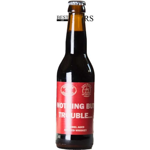 Ugly Duck/De Molen, Nothing But Trouble, Imp Stout, Barrel Aged Smoked Whiskey - 0,33 l. - 11,0%
