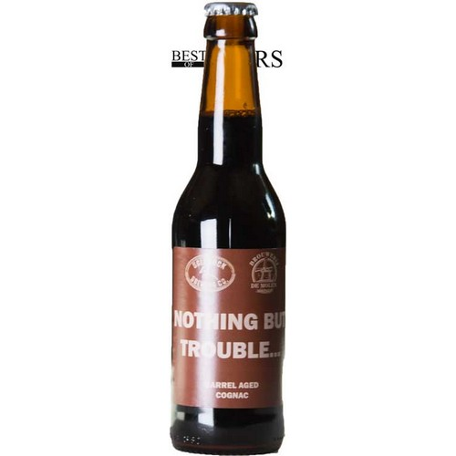 Ugly Duck/De Molen, Nothing But Trouble, Imp Stout, Barrel Aged Cognac - 0,33 l. - 11,0%