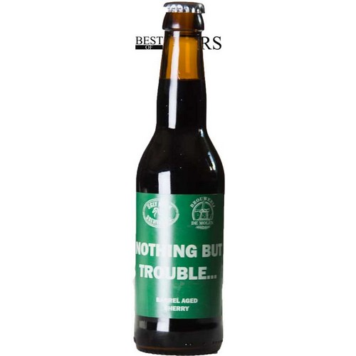 Ugly Duck/De Molen, Nothing But Trouble, Imp Stout, Barrel Aged Sherry - 0,33 l. - 11,0%