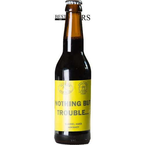 Ugly Duck/De Molen, Nothing But Trouble, Imp Stout, Barrel Aged Whiskey - 0,33 l. - 11,0%