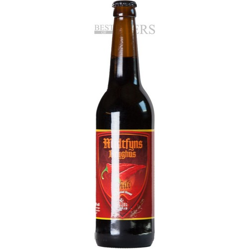 2013 - Chili Imperial Stout- Bryg Nummer 998 - 0,5 l. - 10,7%