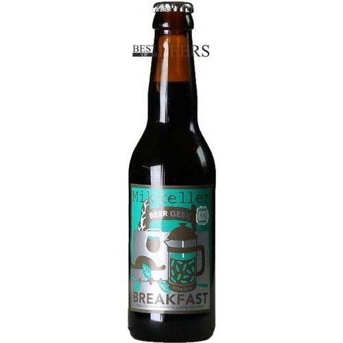 Beer Geek - Oatmeal Stout Brewed With Coffee & Aged In Tequila Barrels - 0,33 l. - 7,5%