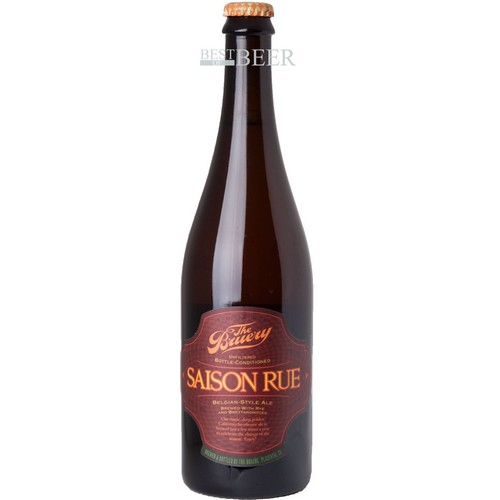 Saison Rue - Belgian Style Ale - Brewed With Rye and Brettanomyces - 0,75 l. - 8,5%