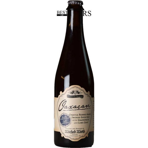 Wicked Weed, Oaxacan, Tequlia Barrel Aged Smoked Sour Ale, Grapefruit & Lime Zest, - 0,5 l. - 8,6%