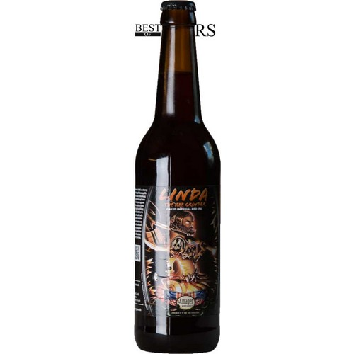 Amager, Linda - The Axe Grinder, Oaked Imperial Red IPA, - 0,5 l. - 9,0%