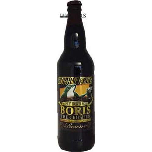 Boris The Crusher, Oatmeal Imperial Stout, Reserve, Whisky Barrel Aged, - 0,66 l. - 9,4%