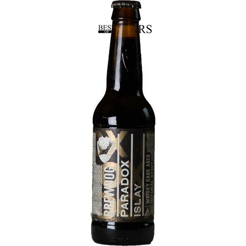 BrewDog, Paradox Islay, Imperial Stout, Whisky Cask Aged, - 0,33 l. - 15,0%