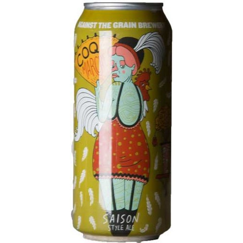 Against The Grain, Coq De La Marche, Saison Style Ale - 0,47. l - 5,8%