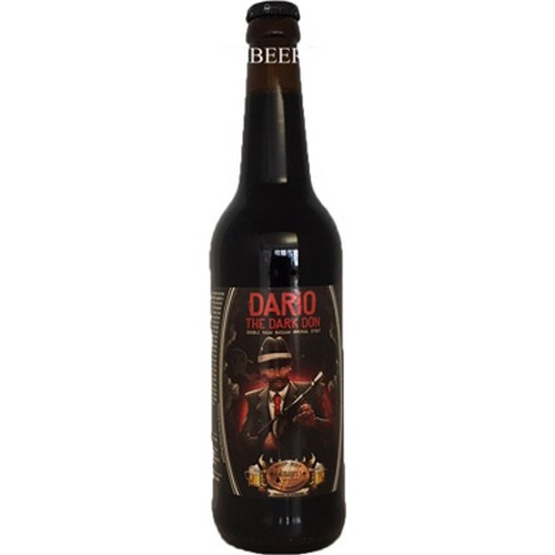 Amager, Dario The Dark Don, Double Mash Imperial Stout, - 0,5 l. - 11,0%