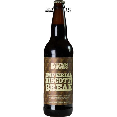Evil Twin, Imperial Biscotti Break, Imperial Stout, - 0,65 l. - 11,5%