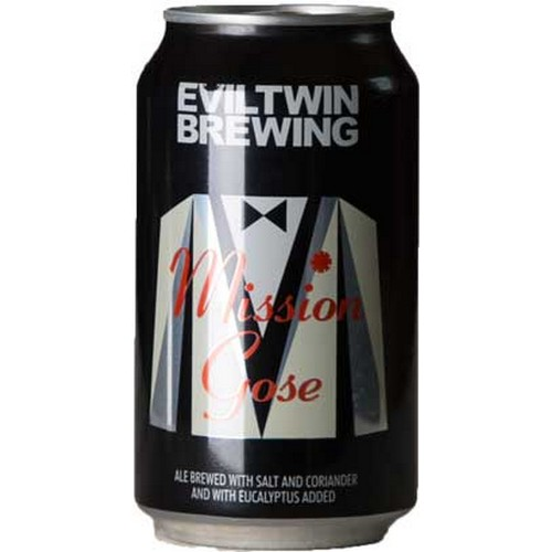 Evil Twin, Mission Gose, Ale, - 0,33 l. - 4,0%