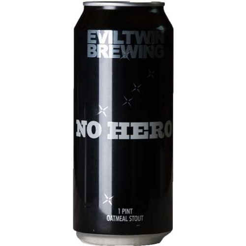 Evil Twin, No Hero, Oatmeal Stout, - 0,473 l. - 7,0%