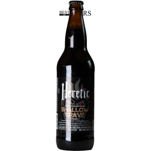 Heretic Brewing, Shallow Grave, Porter 0,65 l. - 7,0%