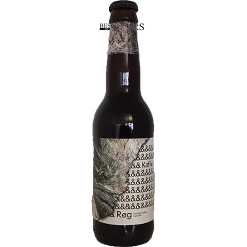 To Øl, Kaffe & Røg, Smoked Coffee Dark Ale, - 0,33 l. - 9,0%