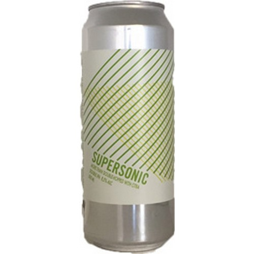 Lervig, Supersonic, Double IPA, Tappet 18.04.17, - 0,5 l. - 8,5%