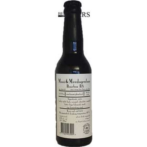 Mooi & Meedogenloos, Bourbon Barrel Aged, Imperial Stout, - 0,33 l. - 11,2%