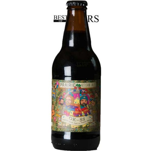 Prairie, OK-SI, Imperial Stout Aged In Tequila Barrels, - 0,33 l. - 12,0%
