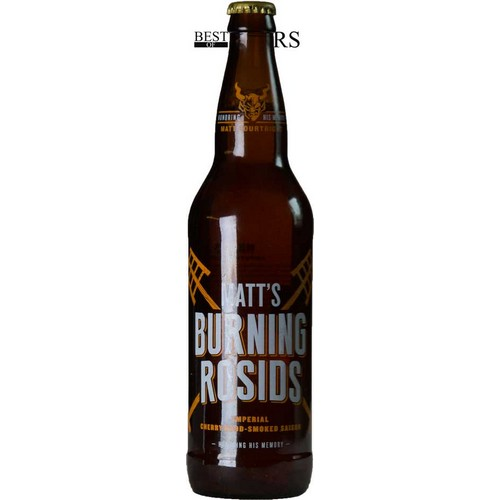 Stone, Matt's Burning Rosids, Imperial Cherry Wood, Smoked Saison, - 0,65 l. - 10,0%