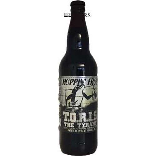 Hoppin´ Frog, Toris The Tyrant, Triple Oatmeal Russian Imperial Stout - 0,66 l. - 13,8%
