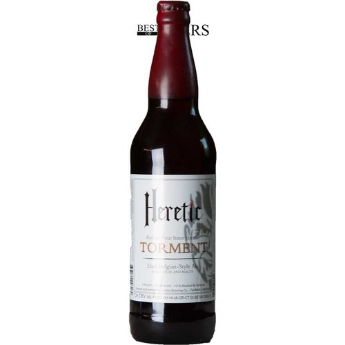 Heretic Brewing, Torment, Dark Belgian Style Ale - 0,65 l. - 10,0%