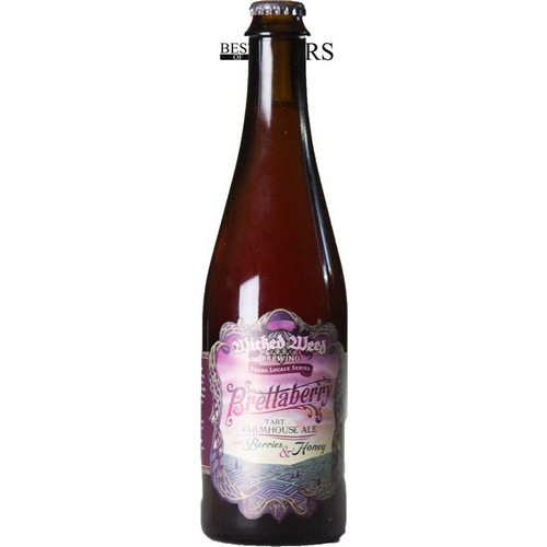 Wicked Weed, BrettaBerry, Tart Farmhouse Ale, With Berries/Honey - 0,5 l. - 5,5%