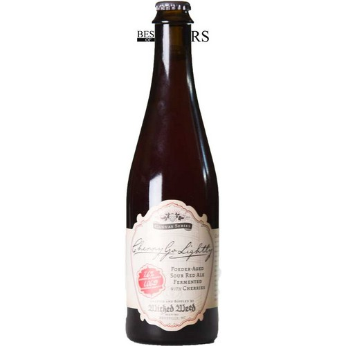 Wicked Weed, Cherry Go Lightly, Foeder-Aged Sour Red Ale, Fermented With Cherries, Barrel Aged - 0,5 l. - 7,6%