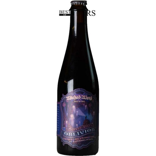 Wicked Weed, Oblivion, Sour Red Ale, Aged In Bourbon Barrels, Blackberries & Dates,- 0,5 l. - 10,5%