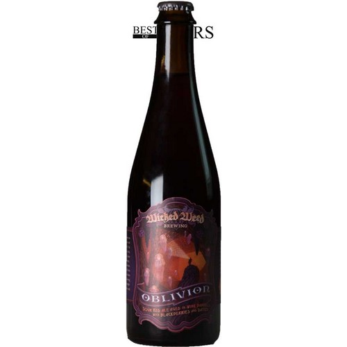 Wicked Weed, Oblivion, Sour Red Ale, Aged In Wine Barrels, Blackberries & Dates,- 0,5 l. - 8,7%
