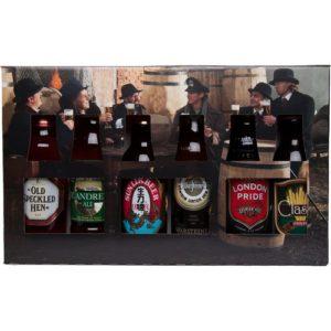 Ølgave - Smag På Verden - 6 øl i flot gaveæske